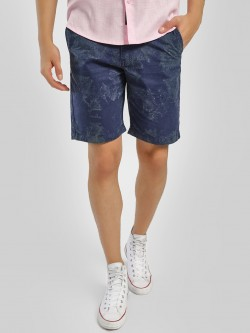 K Denim KOOVS Acid Wash Denim Shorts