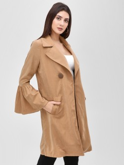 Cover Story Longline Trench Coat