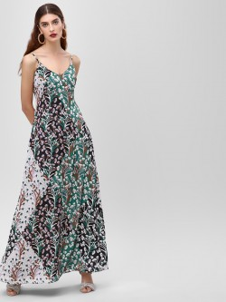 Cover Story Sleeveless Flared Maxi Dress