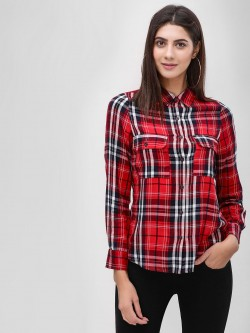 Cover Story Check Long Sleeve Shirt