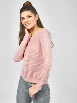 SCULLERS FOR HER Structured Long Sleeve Top