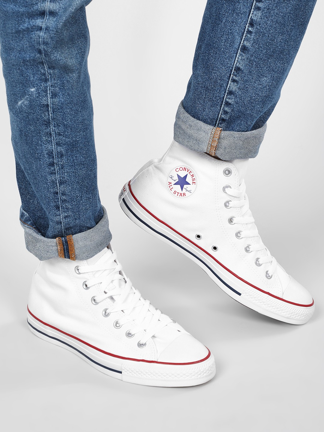 Buy Converse White Chuck Taylor All Star High Top Sneakers