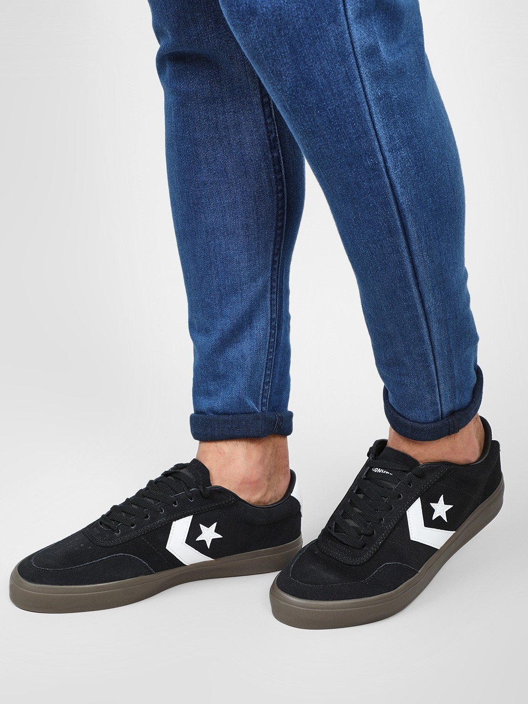 Converse Black One Star Patented Low Top Sneakers 1