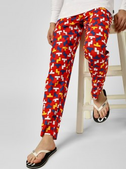 Jack & Jones Tetris Print Lounge Pants