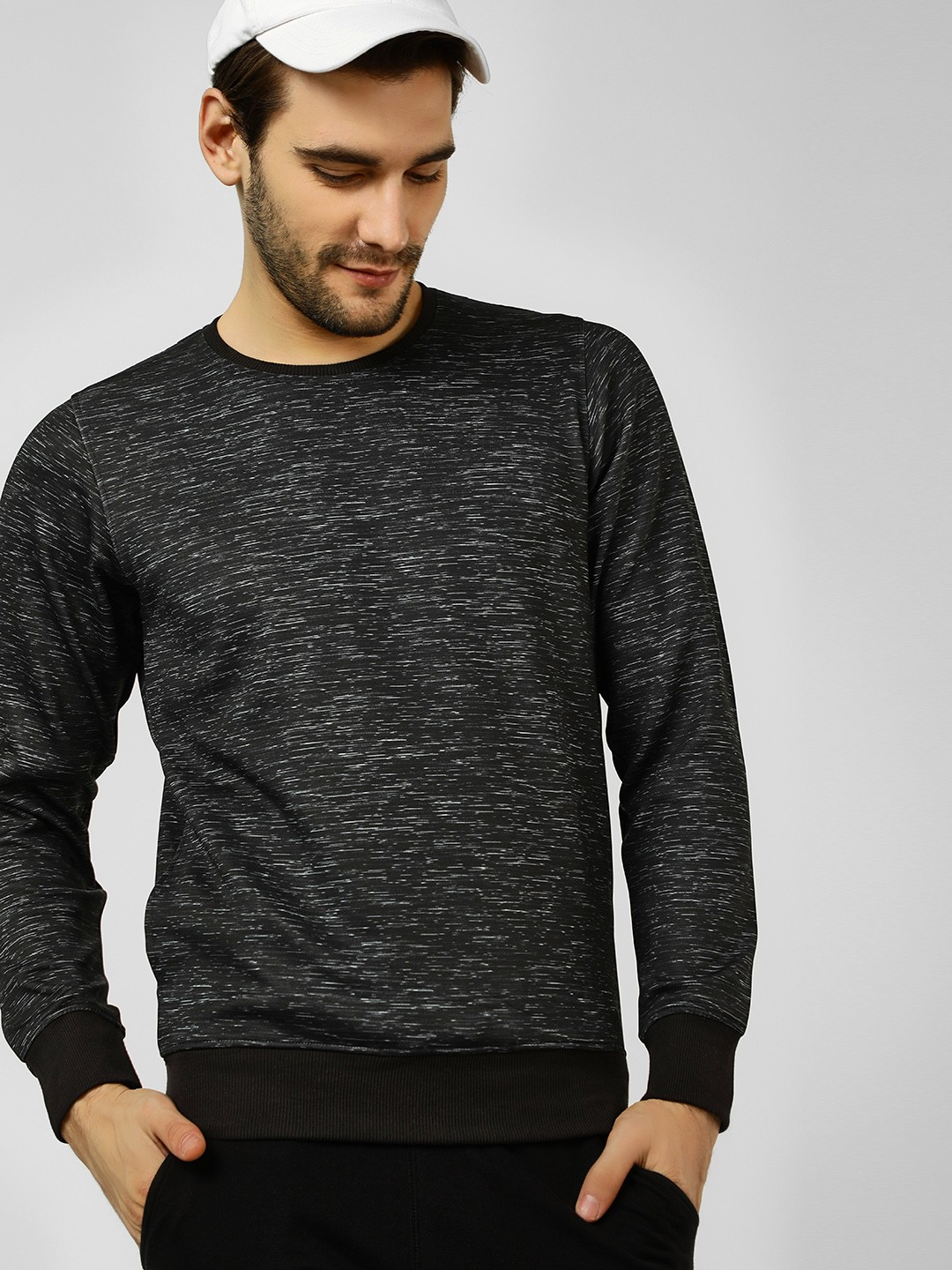 Fort Collins Black Grindle Long Sleeve Sweatshirt 1