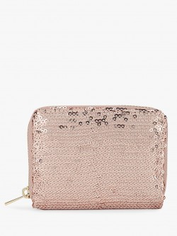 New Look Quilted Sequins Cardholder
