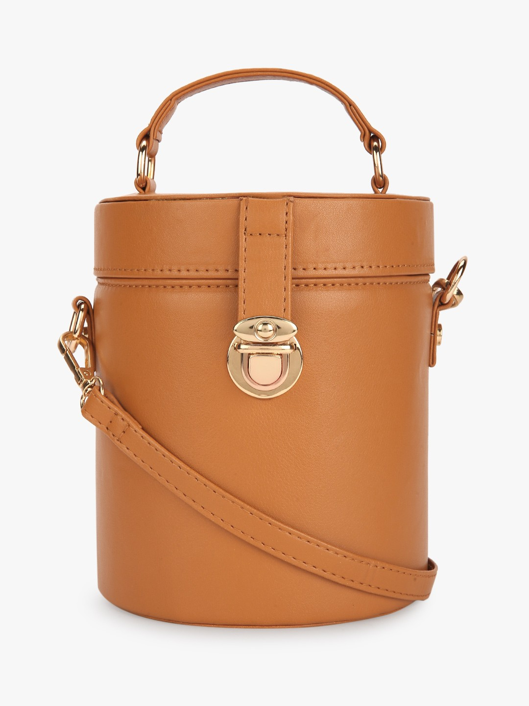 Paris Belle Brown Bucket Sling Bag 1