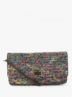 Paris Belle Textured Shimmery Sling Bag