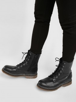 Truffle Collection Casual Combat Boots