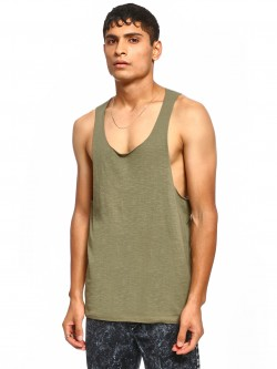 KOOVS Racerback Scoop Neck Vest