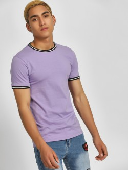 KOOVS Muscle Fit Ringer T-Shirt