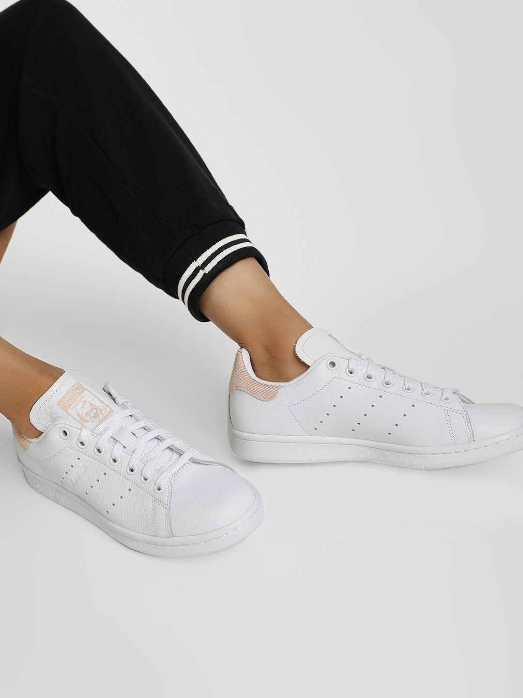 Adidas Originals White Stan Smith Shoes 1