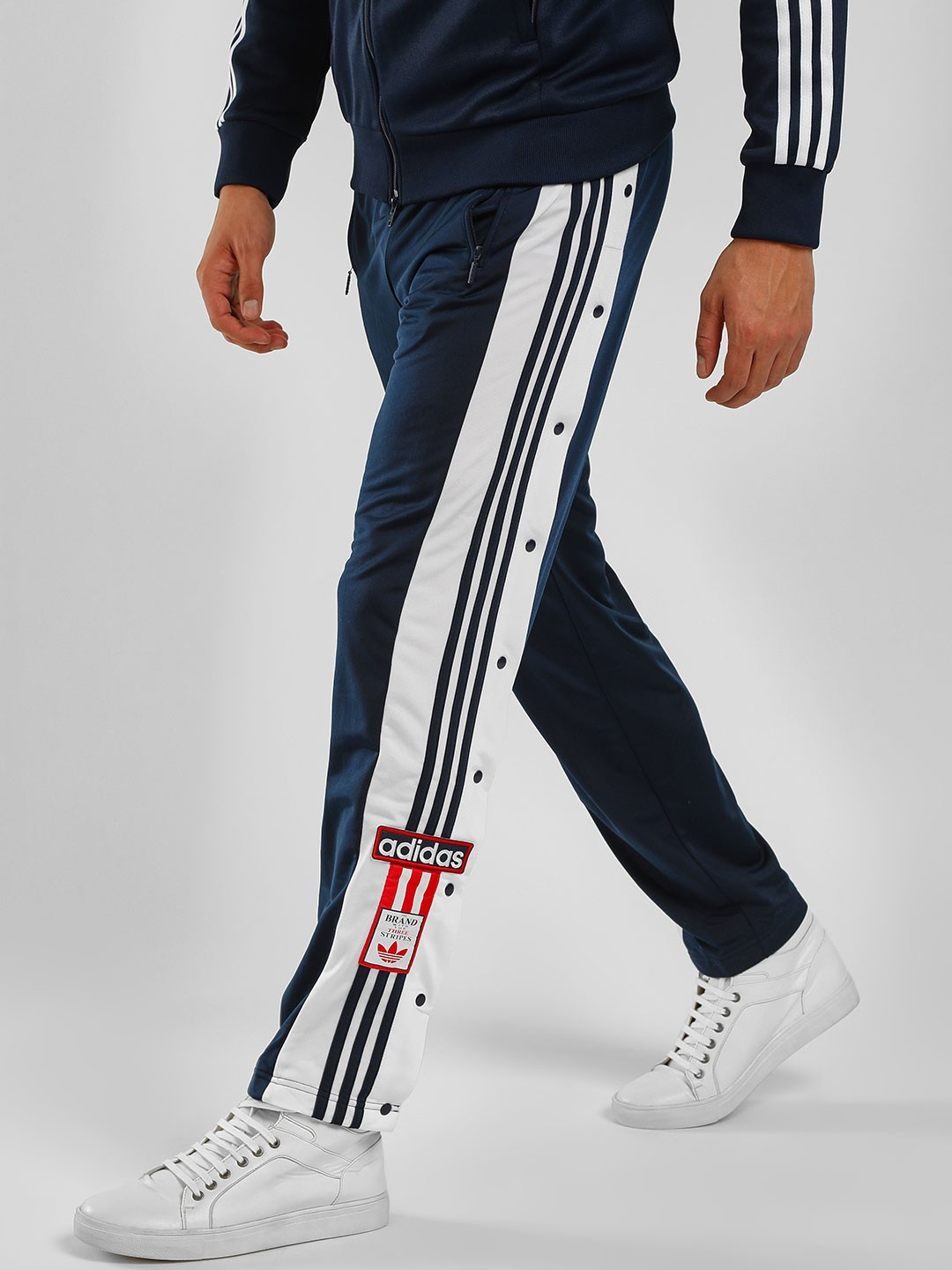 Buy Adidas Originals Navy Adibreak Track Pants for Men