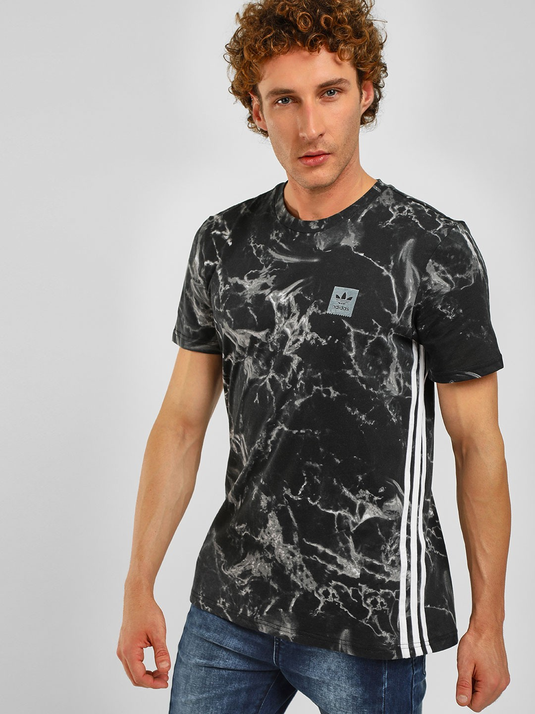 Adidas Originals Multi Marble Stripe T-Shirt 1