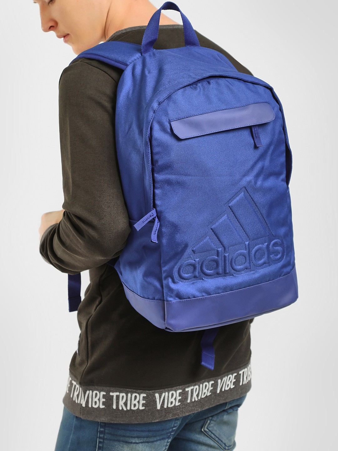 Adidas Blue Classic Backpack 1