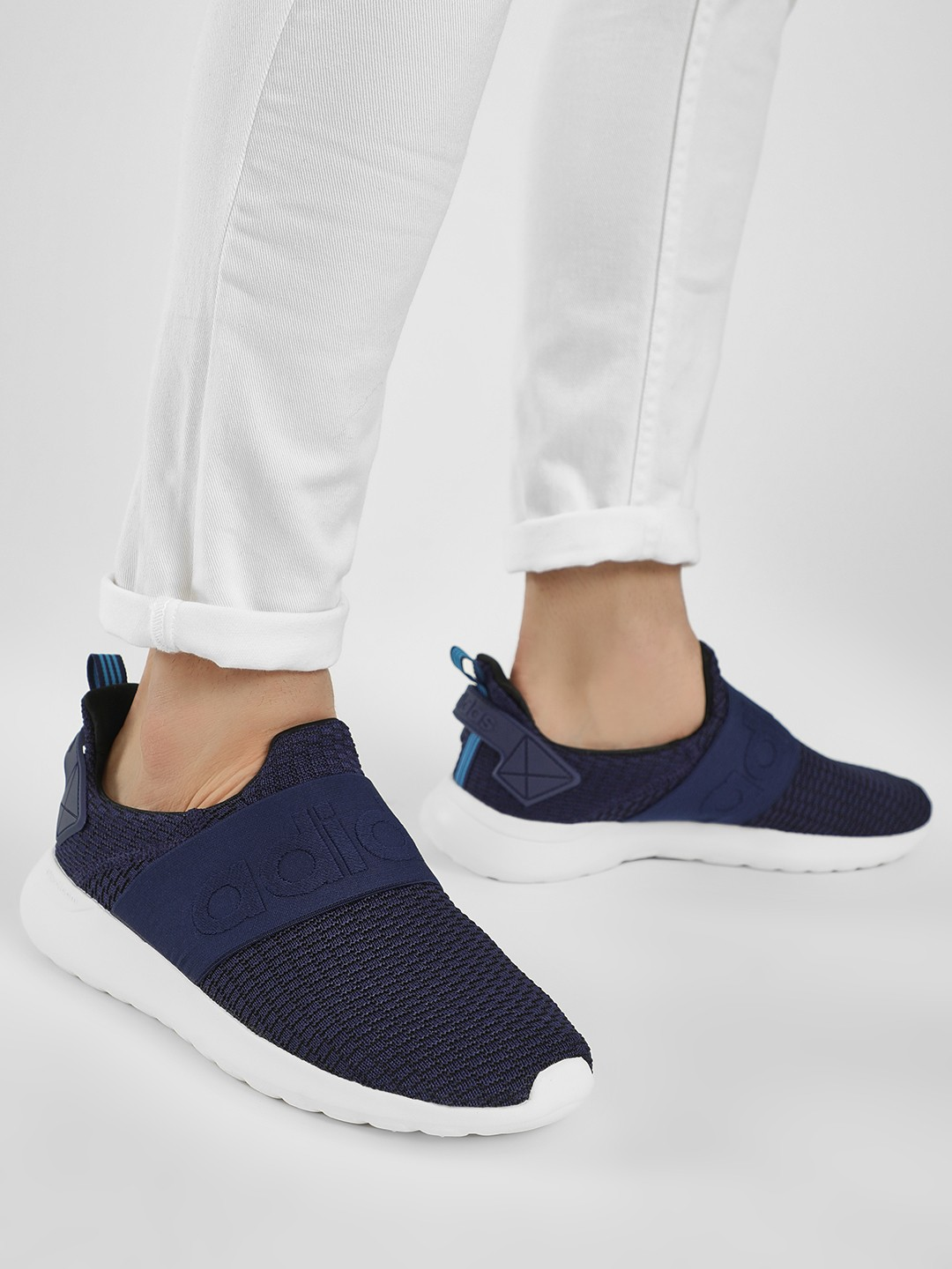 Adidas Blue Lite Racer Adapt Slip-On Shoes 1
