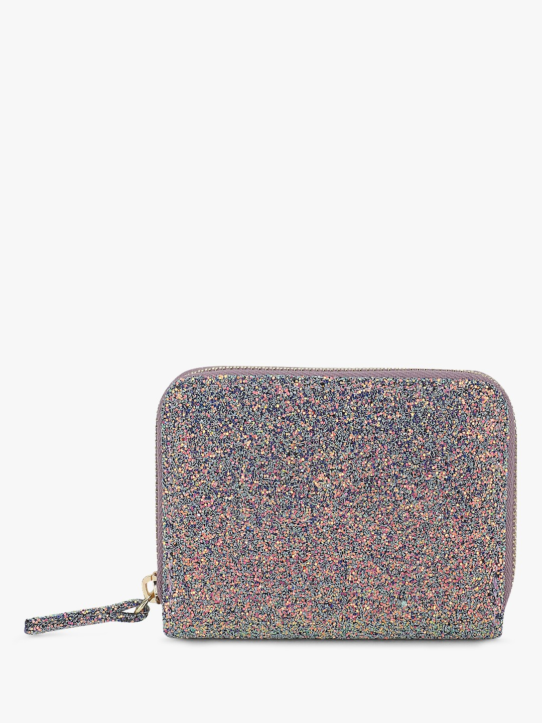 New Look Lilac Glitter Cardholder 1