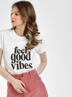 KOOVS Feel Good Vibes T-Shirt