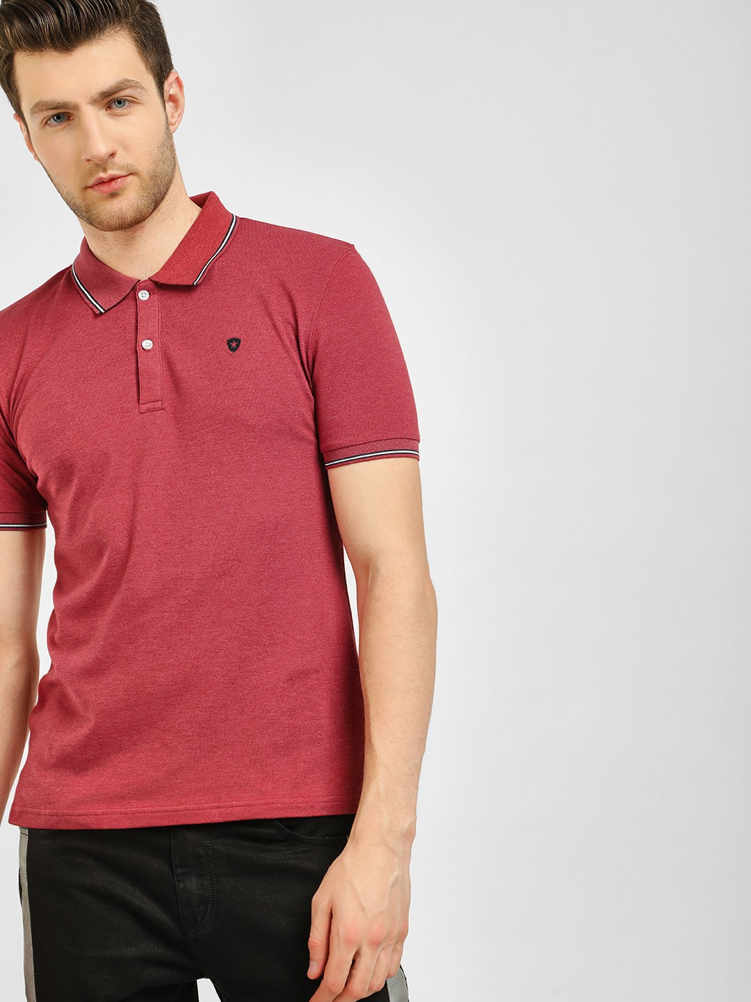Celio Red Polo T-Shirt 1