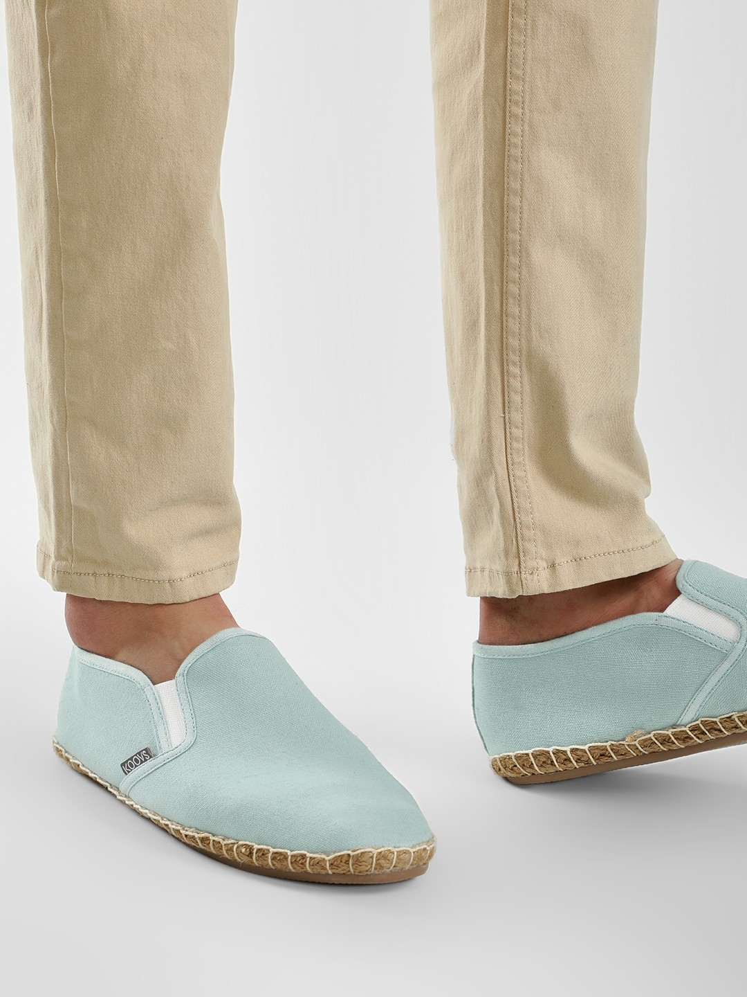 KOOVS Mint Basic Slip-On Espadrilles 1