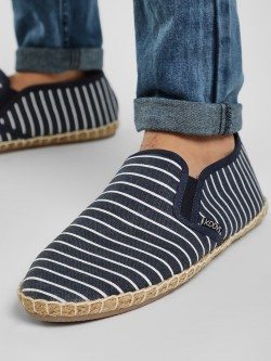 KOOVS Striped Canvas Espadrilles