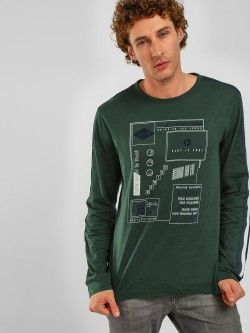 Lee Cooper Placement Print Sweatshirt