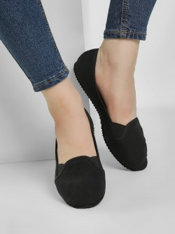KOOVS Basic Canvas Ballerinas