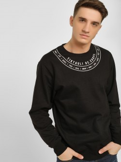 Tiktauli Placement Print Sweatshirt