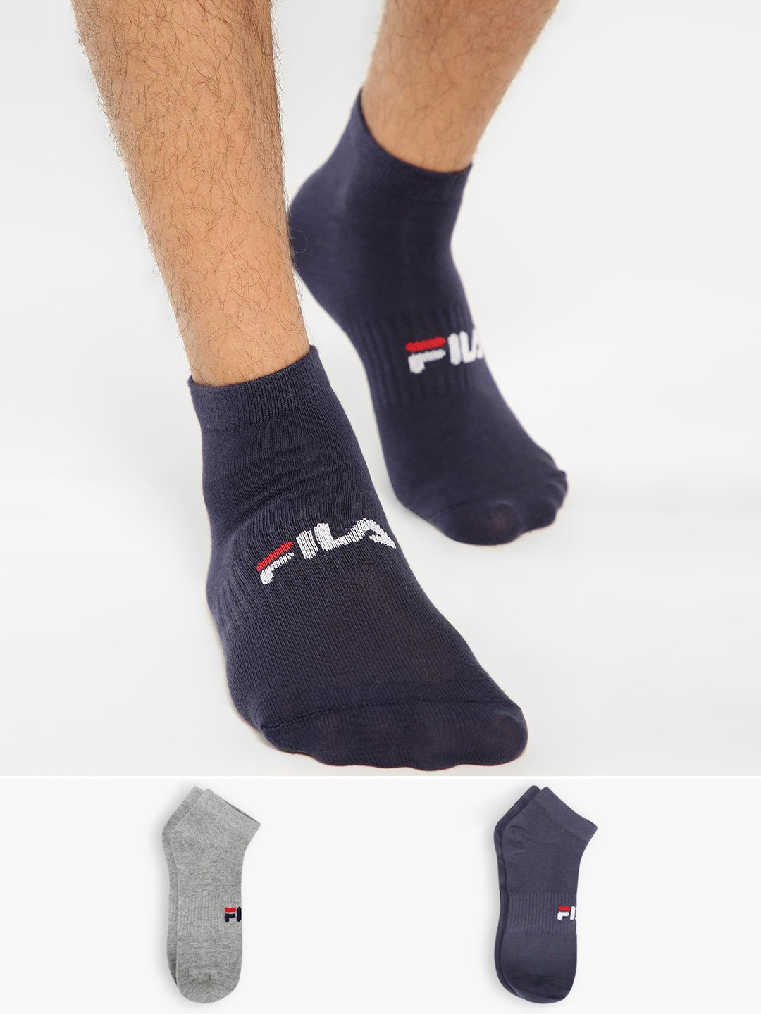 Fila Multi Low Ankle Socks (Pack Of 2) 1