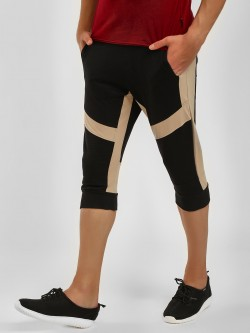 Fighting Fame Colour Block Cropped Joggers