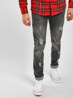 Blue Saint Distressed Slim Fit Jeans