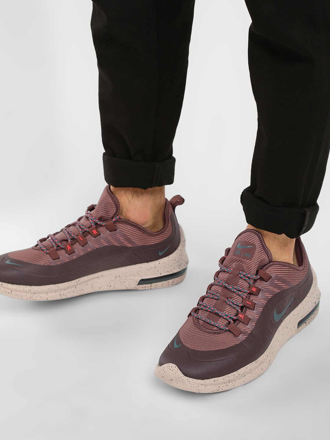 Nike Brown Air Max Axis Premium Trainers 1