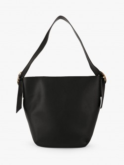 New Look Buckle Detail Hobo Tote Bag