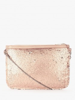 New Look Two-Way Sequin Clutch