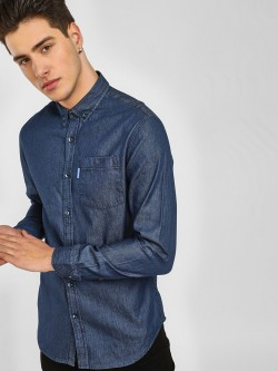 Blue Saint Button Down Denim Shirt
