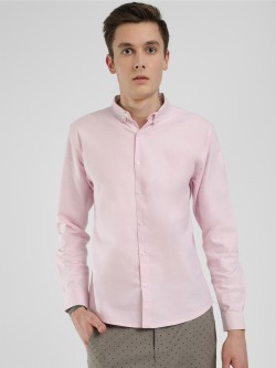 KOOVS Oxford Long Sleeve Shirt