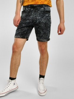 K Denim KOOVS Stonewash Denim Shorts