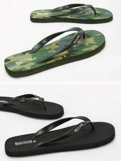 KOOVS Flip-Flops (Pack Of 2)