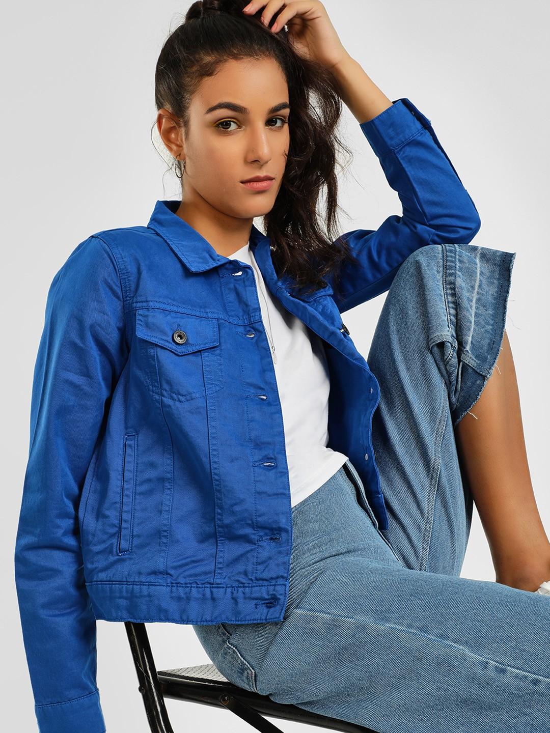 Blue Saint Blue Basic Denim Jacket 1