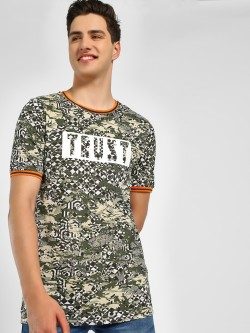 Adamo London Placement Print T-Shirt