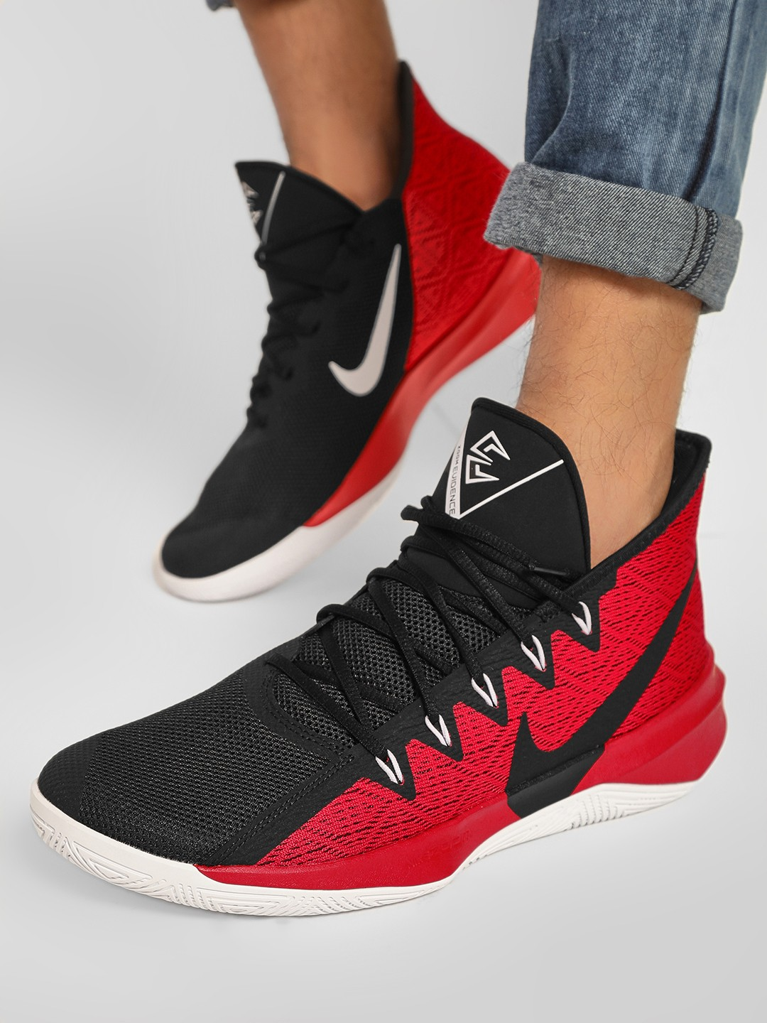 Nike Red Zoom Evidence 3 Shoes 1