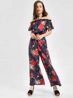 MIWAY Floral Print Trousers