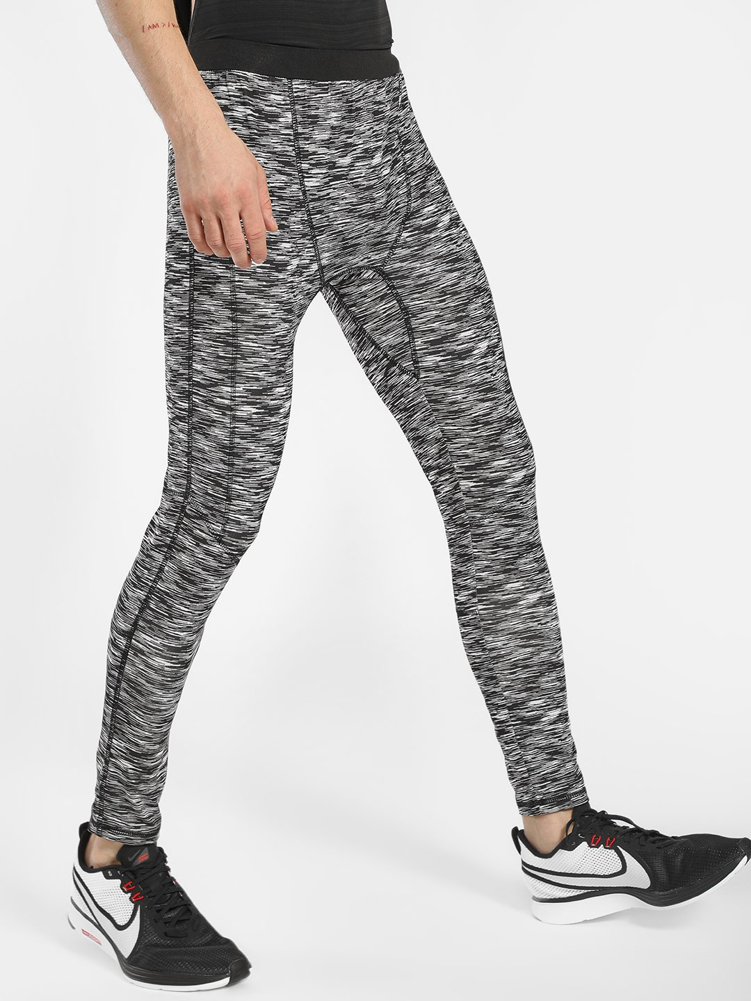 K ACTIVE Grey KOOVS Space Dyed Joggers 1