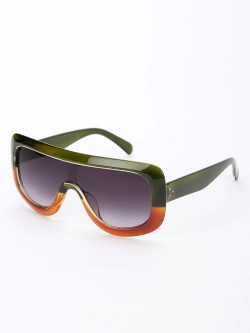 Pataaka Colour Block Broad Frame Sunglasses