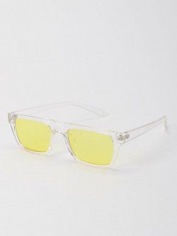 Pataaka Coloured Lens Square Sunglasses