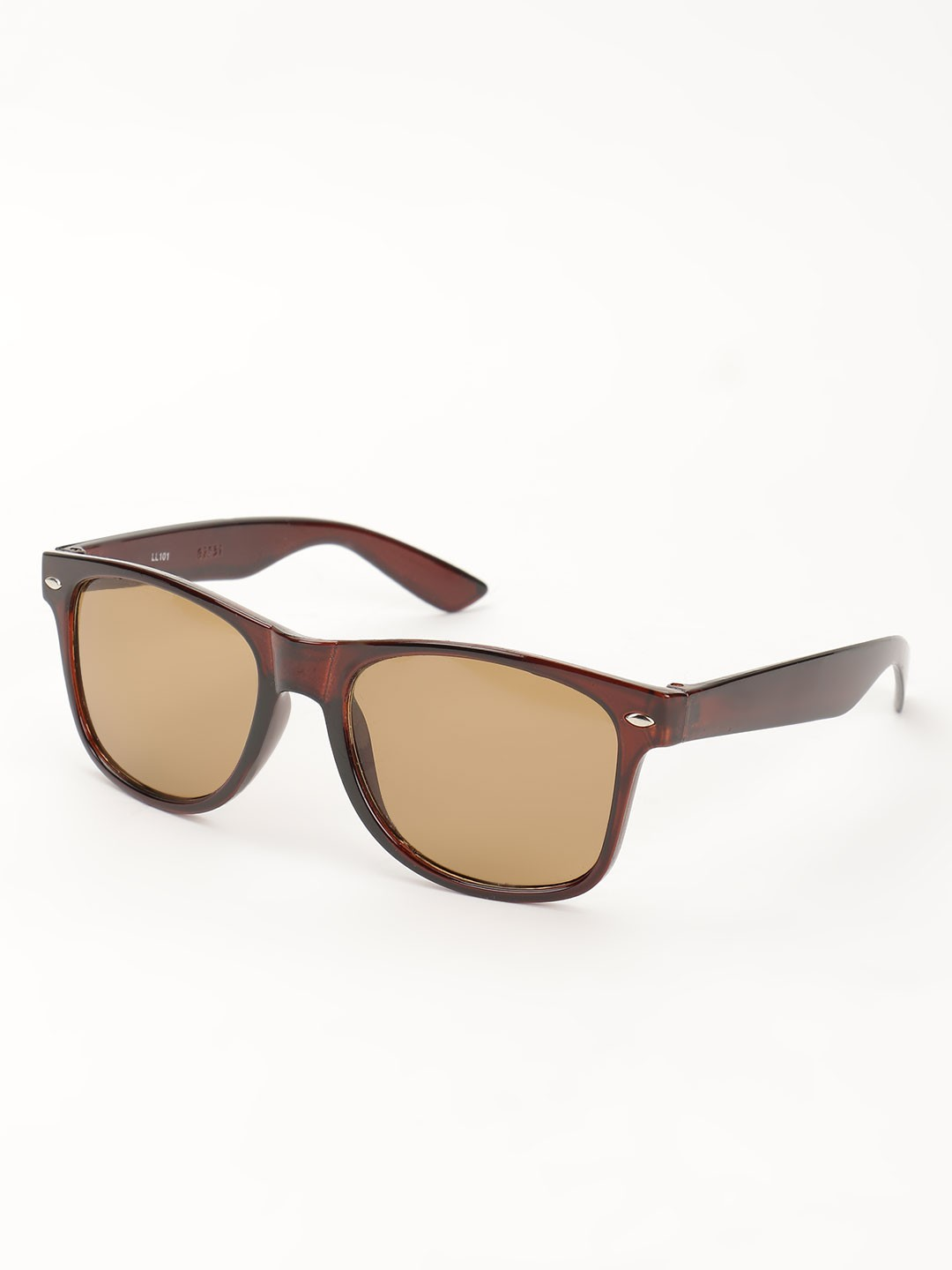 KOOVS Brown Tinted Lens Classic Sunglasses 1