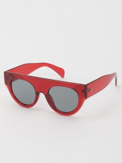 KOOVS Tinted Lens Retro Sunglasses