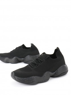 KOOVS Lace Up Flynet Trainers