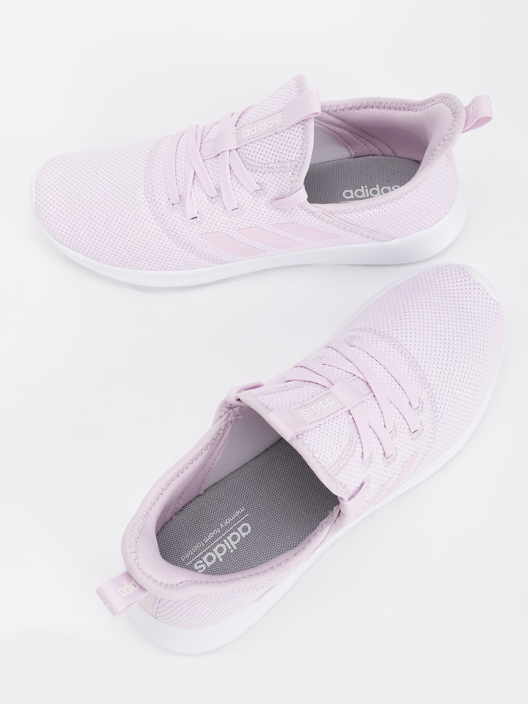 Adidas Pink Cloudfoam Pure Shoes 1