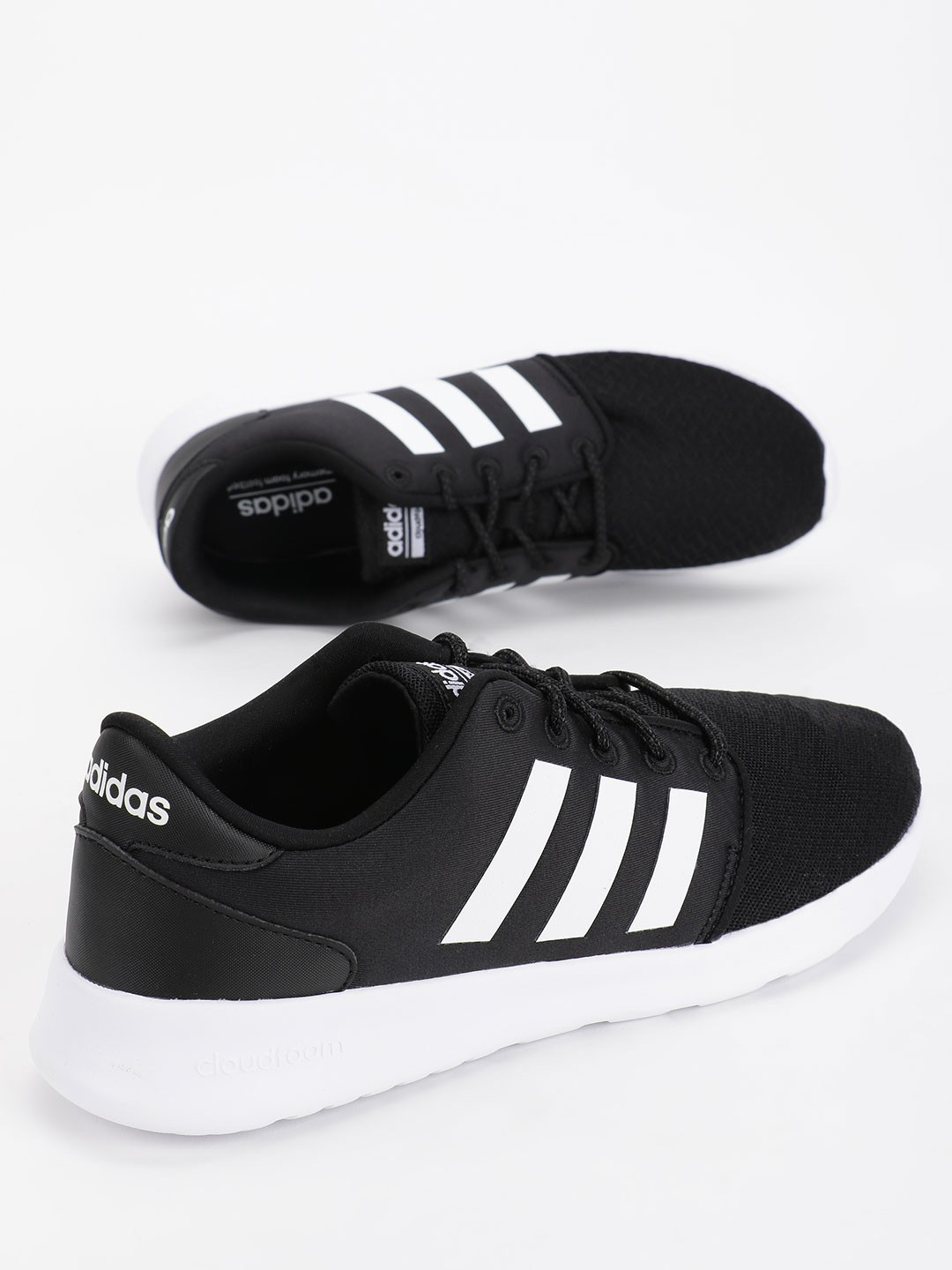 Adidas Black Qt Racer Shoes 1